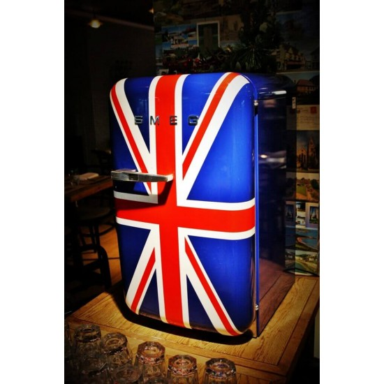 Union Jack Mini Fridge