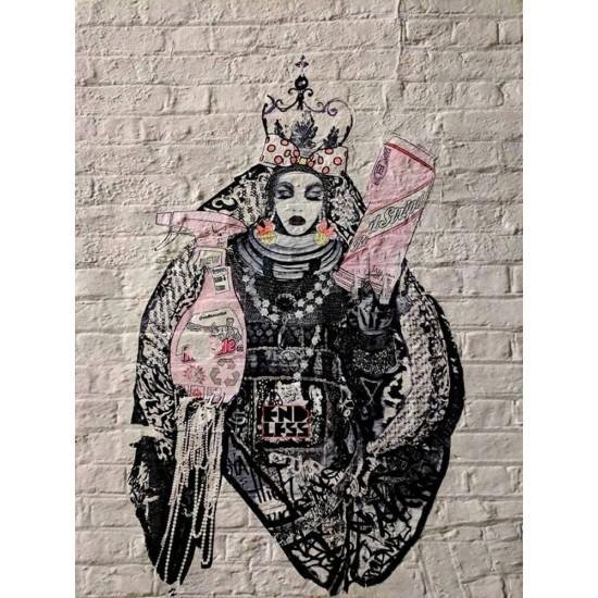 Street art stencil