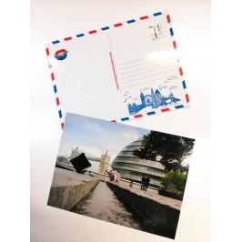Postcard Kisses